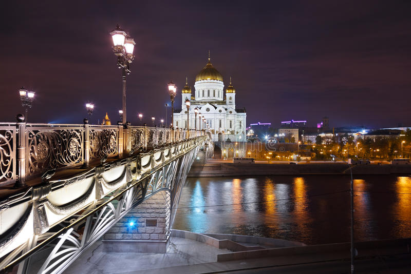 Εκκλησία Χριστού το Savior στη Μόσχα στοκ φωτογραφίες