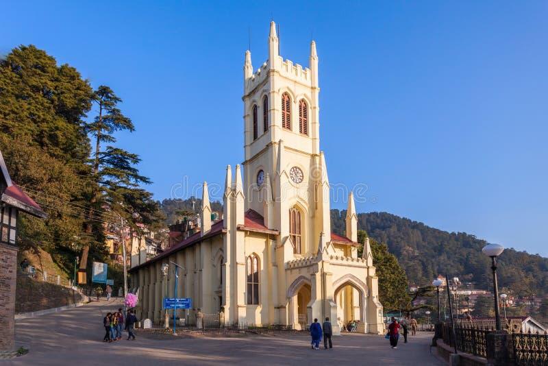 Εκκλησία Χριστού, Shimla στοκ φωτογραφίες με δικαίωμα ελεύθερης χρήσης