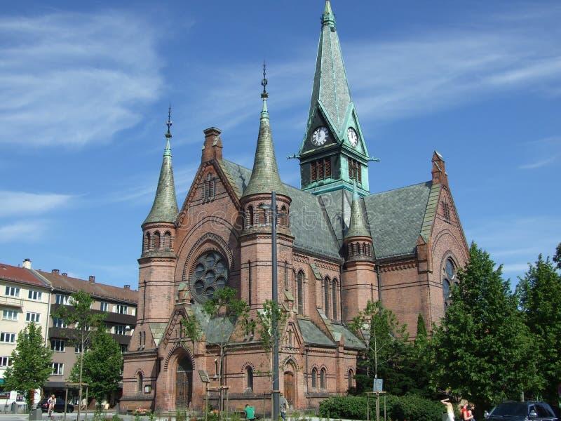 εκκλησία Όσλο στοκ εικόνες