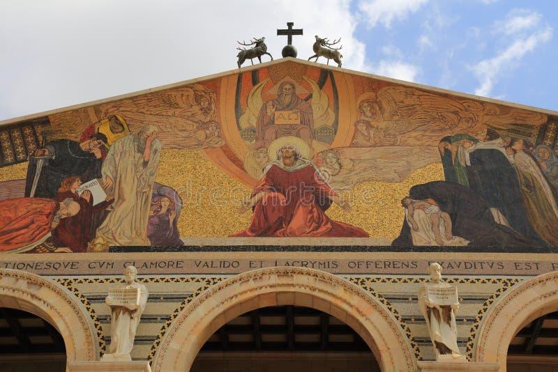 Εκκλησία όλων των εθνών (βασιλική της αγωνίας) στοκ εικόνες με δικαίωμα ελεύθερης χρήσης