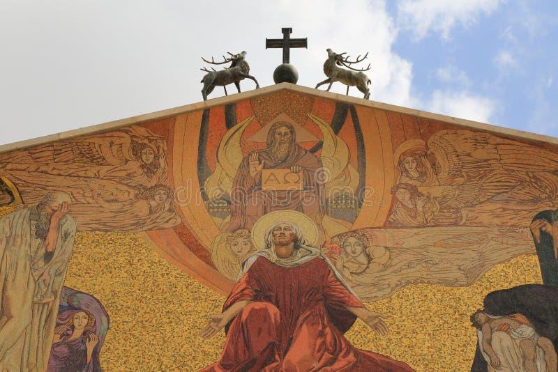 Εκκλησία όλων των εθνών (βασιλική της αγωνίας) στοκ φωτογραφίες με δικαίωμα ελεύθερης χρήσης