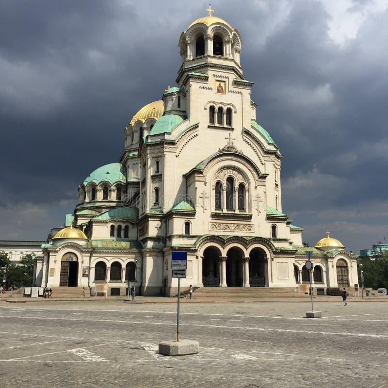 Εκκλησία Aleksandar Nevski στοκ φωτογραφία με δικαίωμα ελεύθερης χρήσης