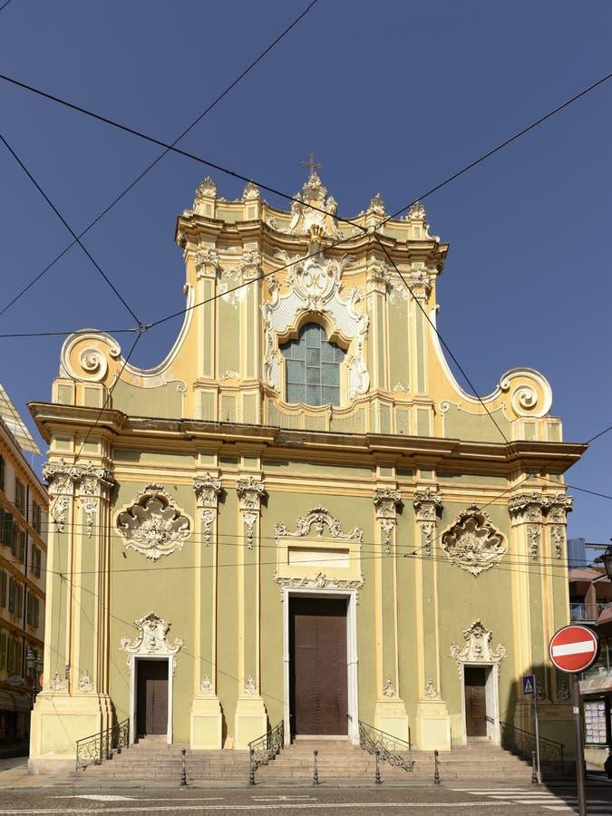 Εκκλησία Angeli degli της Σάντα Μαρία, Sanremo, Ιταλία στοκ εικόνα με δικαίωμα ελεύθερης χρήσης