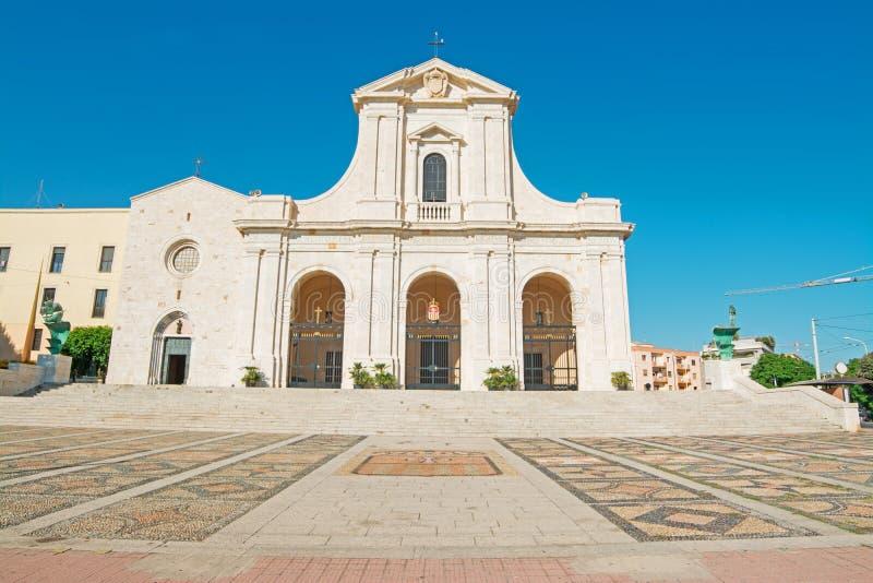 Εκκλησία Bonaria στοκ φωτογραφία