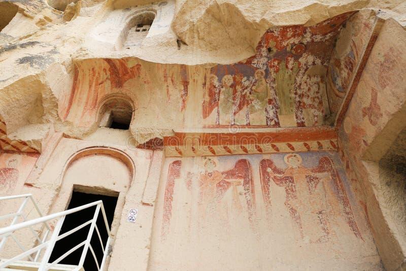Εκκλησία Cavusin σε Cappadocia, Τουρκία στοκ φωτογραφίες με δικαίωμα ελεύθερης χρήσης