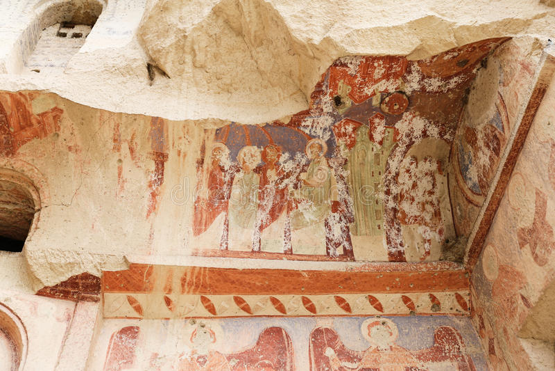 Εκκλησία Cavusin σε Cappadocia, Τουρκία στοκ εικόνες
