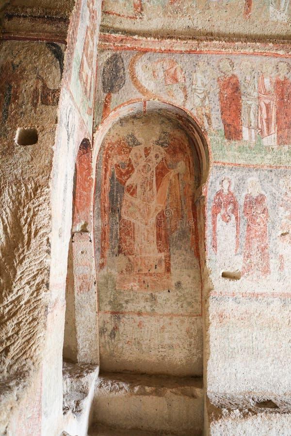 Εκκλησία Cavusin σε Cappadocia, Τουρκία στοκ φωτογραφία με δικαίωμα ελεύθερης χρήσης