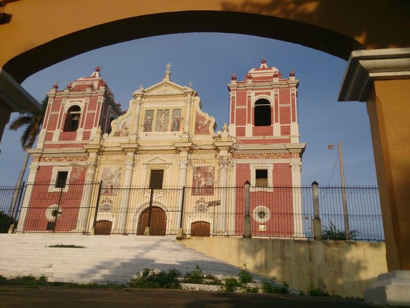 Εκκλησία EL Calvario, Leon στοκ εικόνες με δικαίωμα ελεύθερης χρήσης