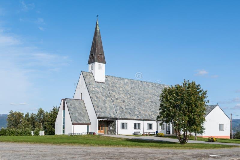 Εκκλησία Elvebakken στη Alta Finnmark στοκ φωτογραφίες με δικαίωμα ελεύθερης χρήσης