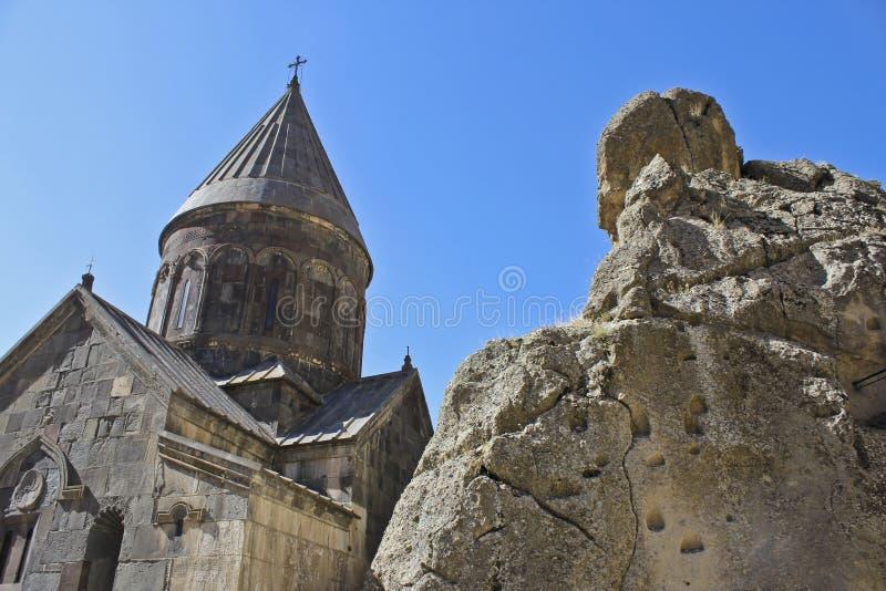Εκκλησία Geghard στοκ φωτογραφία