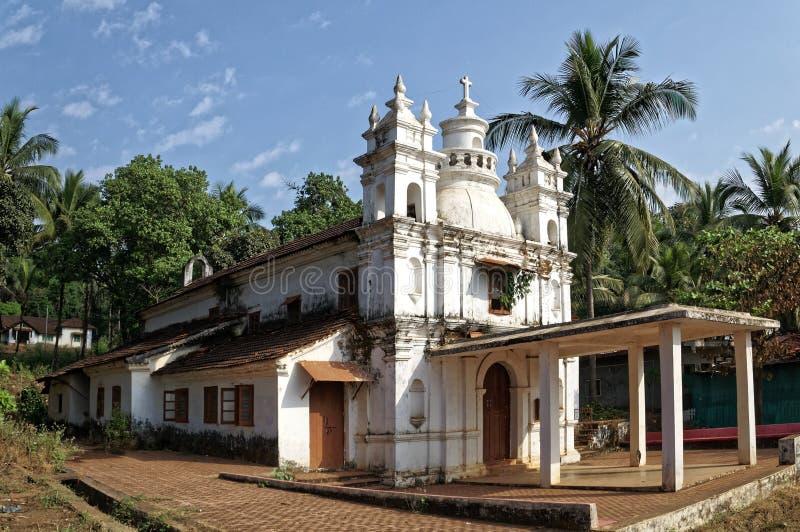Εκκλησία Goan στοκ φωτογραφία