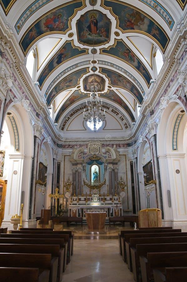 Εκκλησία Immacolata Minervino Murge Πούλια Ιταλία στοκ εικόνες με δικαίωμα ελεύθερης χρήσης