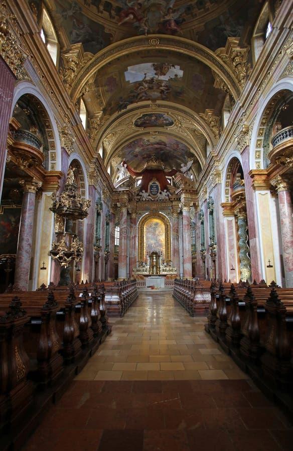 Εκκλησία Jesuit στη Βιέννη στοκ εικόνες με δικαίωμα ελεύθερης χρήσης