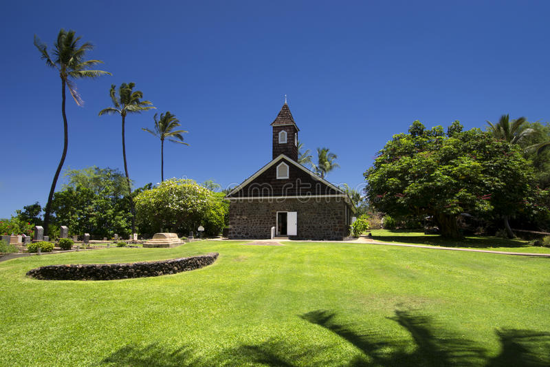 Εκκλησία Keawalai, νότιο Maui, Χαβάη, ΗΠΑ στοκ φωτογραφίες με δικαίωμα ελεύθερης χρήσης