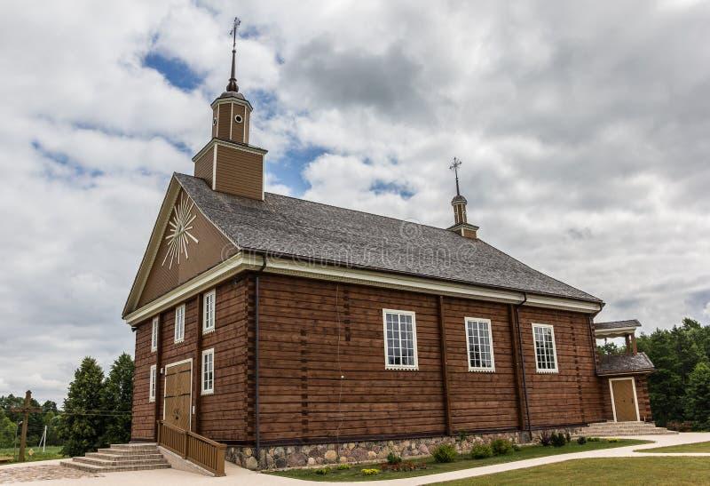 Εκκλησία Labanoras στοκ εικόνες