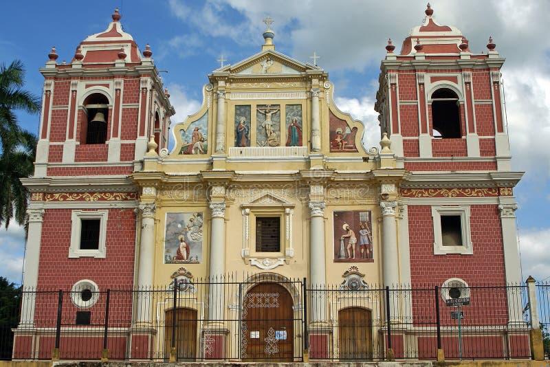 Εκκλησία, Leon, Νικαράγουα στοκ εικόνες