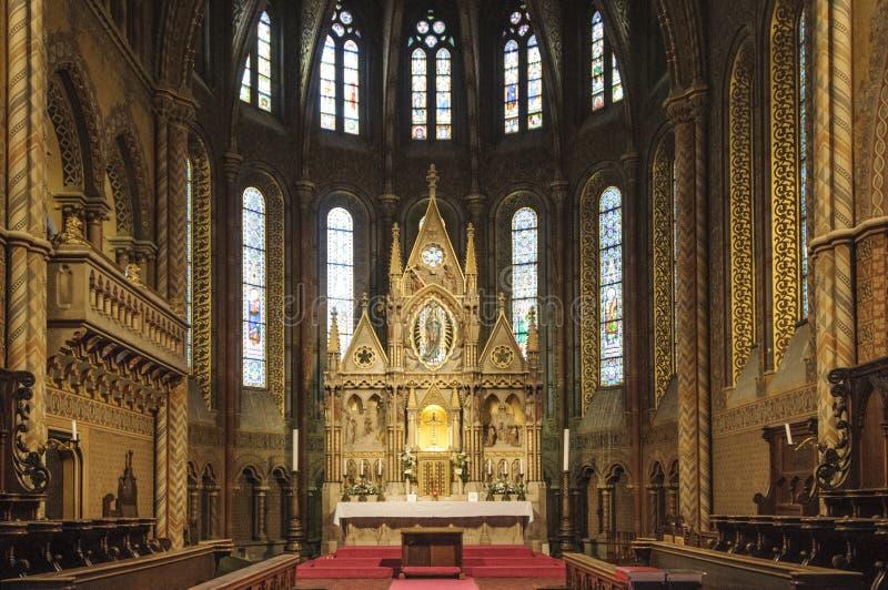 Εκκλησία Matthias της Βουδαπέστης Ουγγαρία Ευρώπη στοκ φωτογραφίες με δικαίωμα ελεύθερης χρήσης