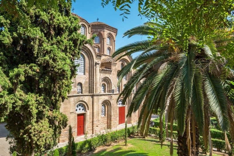 Εκκλησία Panagia Chalkeon Ελλάδα Θεσσαλονίκη στοκ φωτογραφία με δικαίωμα ελεύθερης χρήσης