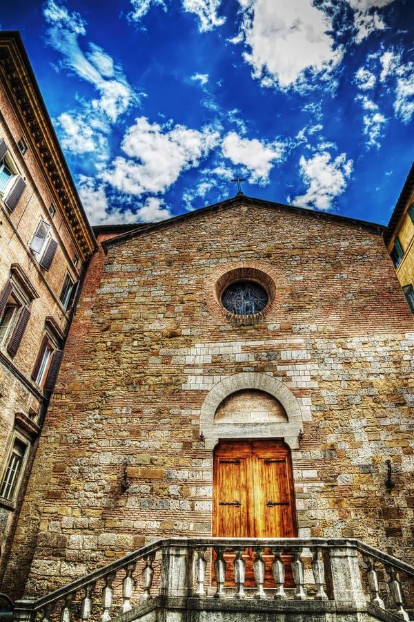 Εκκλησία Sant'Andrea στη Σιένα στοκ εικόνα με δικαίωμα ελεύθερης χρήσης