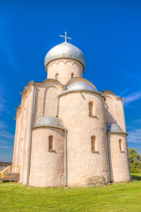 Εκκλησία Savior Nereditsa της Ρωσίας Veliky Novgorod στοκ εικόνες