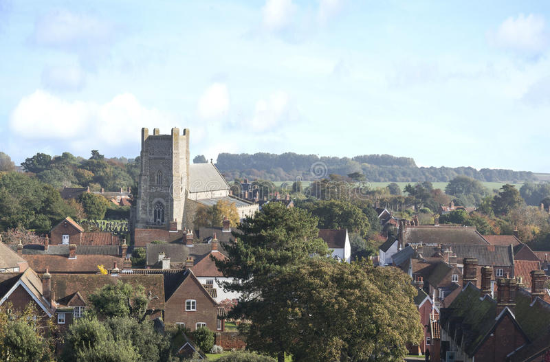 Εκκλησία StBartholomew ` σε Orford Σάφολκ Αγγλία στοκ φωτογραφία με δικαίωμα ελεύθερης χρήσης