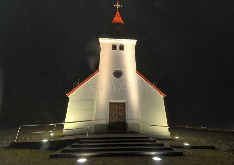 Εκκλησία Vik, Ισλανδία στοκ εικόνες με δικαίωμα ελεύθερης χρήσης