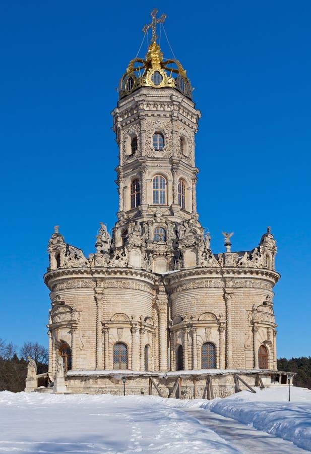 Εκκλησία Znamensky σε Dubrovitsy στοκ εικόνες