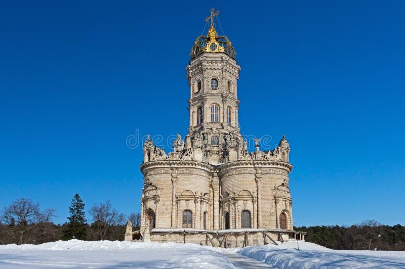 Εκκλησία Znamensky σε Dubrovitsy στοκ φωτογραφίες με δικαίωμα ελεύθερης χρήσης