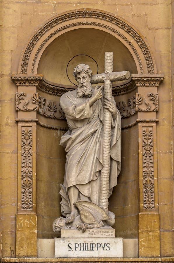 Εκκλησίες της Μάλτας - Mosta Rotunda στοκ εικόνες