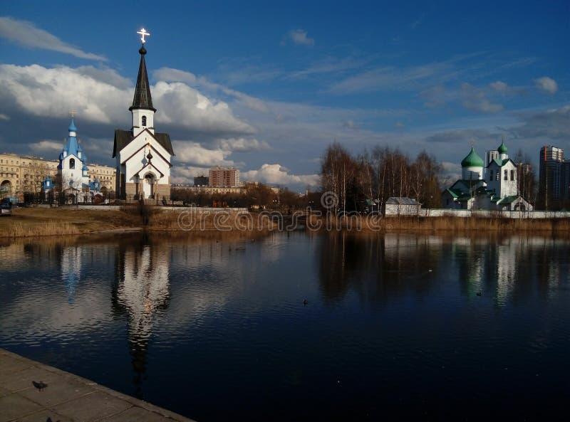 εκκλησίες στοκ φωτογραφία με δικαίωμα ελεύθερης χρήσης
