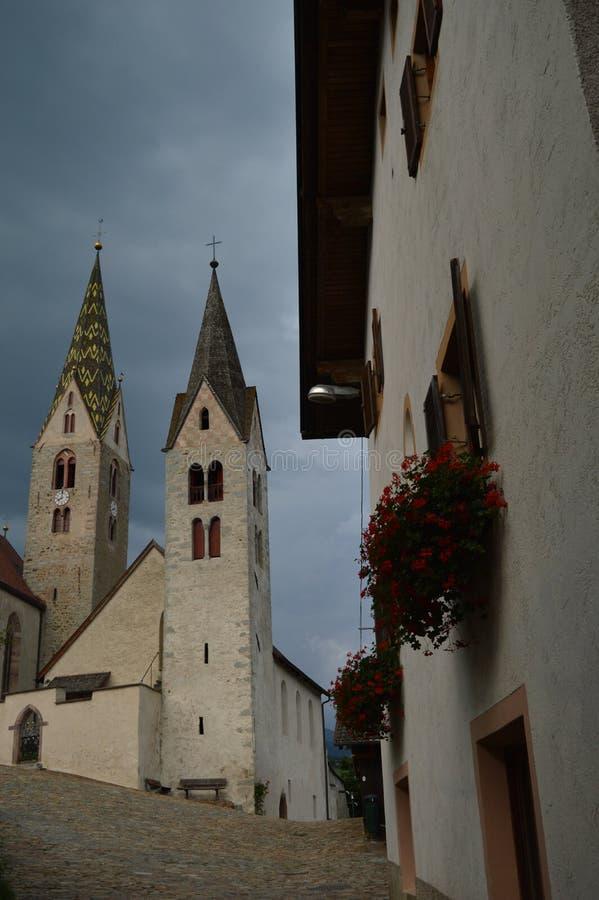 Εκκλησίες Villanders στοκ φωτογραφίες