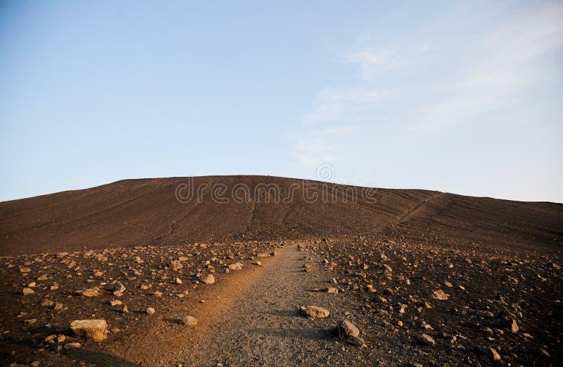εκλείψας ηφαίστειο κρα& στοκ εικόνα με δικαίωμα ελεύθερης χρήσης