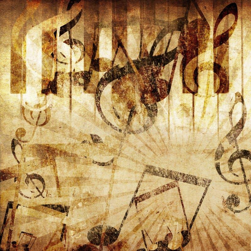 Εκλεκτής ποιότητας ανασκόπηση πιάνων ελεύθερη απεικόνιση δικαιώματος