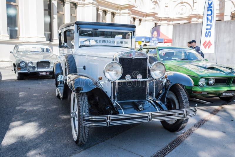 Εκλεκτής ποιότητας αυτοκίνητο Chevrolet σε Motorclassica στοκ φωτογραφία με δικαίωμα ελεύθερης χρήσης