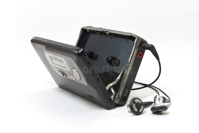 Εκλεκτής ποιότητας γουόκμαν audiotape στοκ εικόνα με δικαίωμα ελεύθερης χρήσης