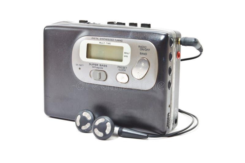 Εκλεκτής ποιότητας γουόκμαν audiotape στοκ φωτογραφίες με δικαίωμα ελεύθερης χρήσης