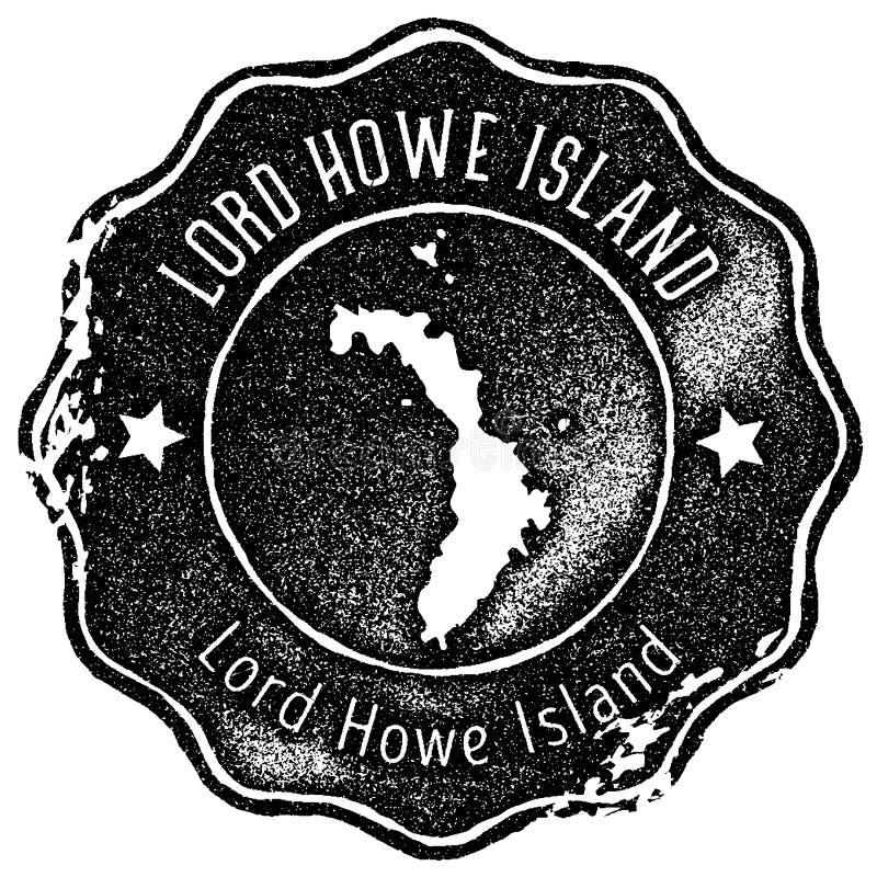 Εκλεκτής ποιότητας γραμματόσημο χαρτών Λόρδου Howe Island ελεύθερη απεικόνιση δικαιώματος