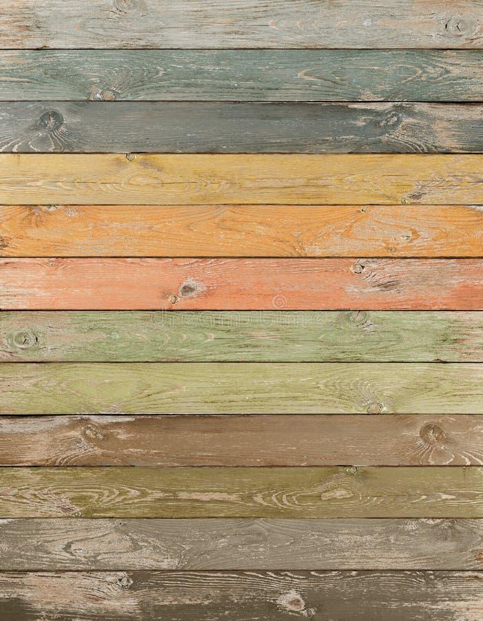 Εκλεκτής ποιότητας κάθετο υπόβαθρο σανίδων χρώματος ξύλινο στοκ φωτογραφία με δικαίωμα ελεύθερης χρήσης