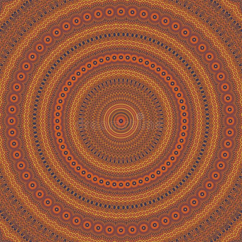 Εκλεκτής ποιότητας καλειδοσκόπιο συμμετρίας σχεδίων αφηρημένο αναδρομικός γραφικός διανυσματική απεικόνιση