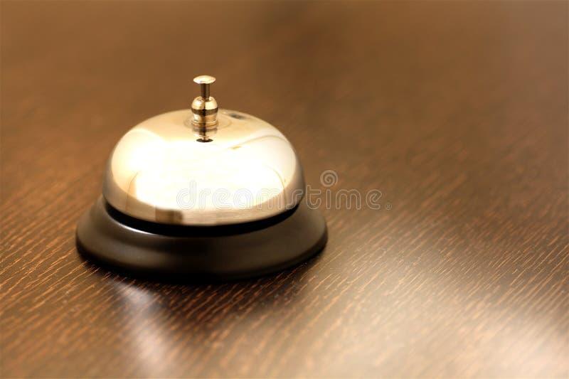 Εκλεκτής ποιότητας κουδούνι ορείχαλκου στοκ εικόνα
