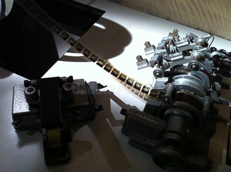 Εκλεκτής ποιότητας μηχανή έκδοσης ταινιών στοκ εικόνα με δικαίωμα ελεύθερης χρήσης