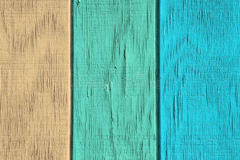 Εκλεκτής ποιότητας ξύλινες υπόβαθρο και σύσταση με το χρώμα αποφλοίωσης στοκ φωτογραφίες