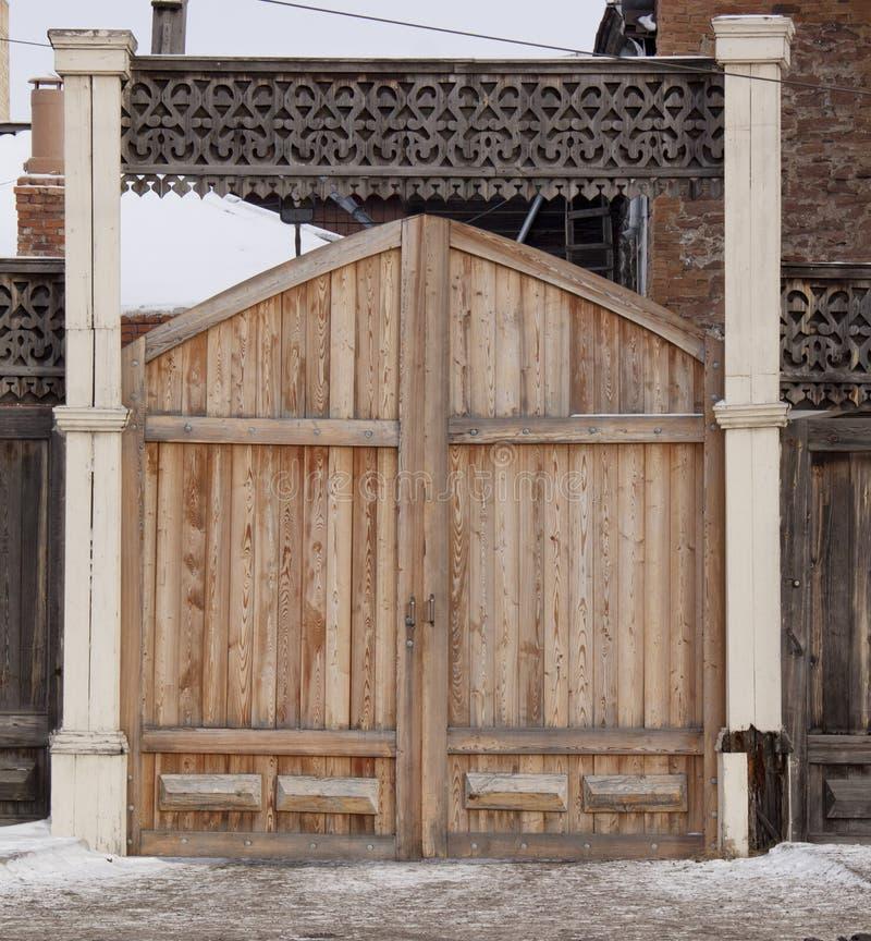 Εκλεκτής ποιότητας ξύλινη γλυπτική στοκ εικόνες