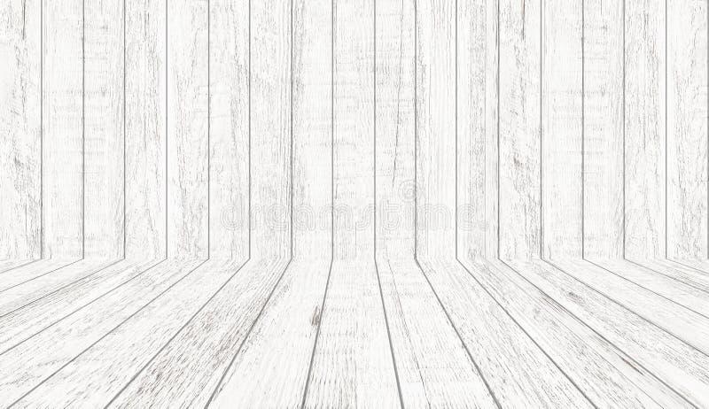 Εκλεκτής ποιότητας ξύλινη σύσταση σχεδίων κατά την άποψη προοπτικής για το υπόβαθρο Κενό ξύλινο υπόβαθρο δωματίων διανυσματική απεικόνιση