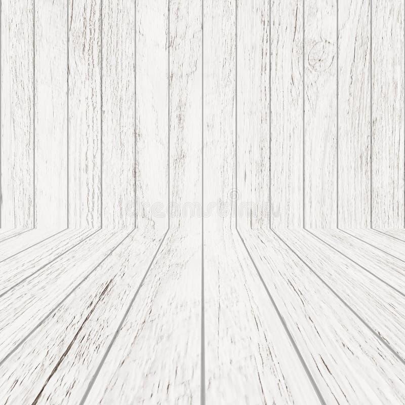 Εκλεκτής ποιότητας ξύλινη σύσταση σχεδίων κατά την άποψη προοπτικής για το υπόβαθρο Κενό ξύλινο υπόβαθρο δωματίων ελεύθερη απεικόνιση δικαιώματος