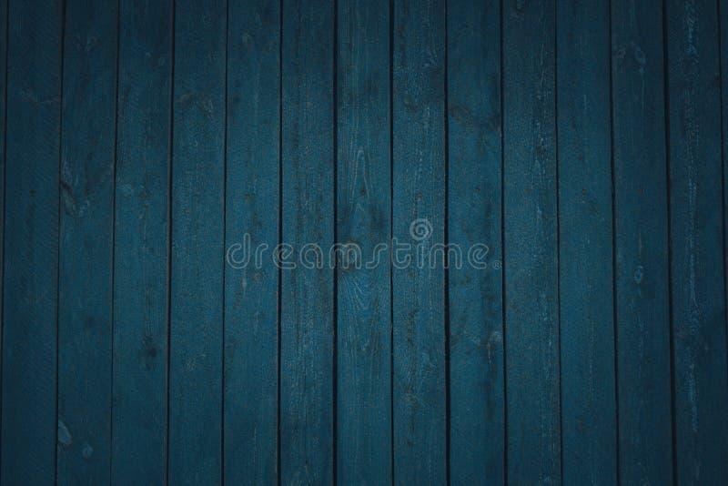 Εκλεκτής ποιότητας ξύλινοι σκούρο μπλε οριζόντιοι πίνακες r : στοκ εικόνες