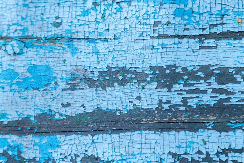 Εκλεκτής ποιότητας ξύλινο υπόβαθρο με το χρώμα αποφλοίωσης στενή σύσταση επάνω στοκ εικόνα με δικαίωμα ελεύθερης χρήσης