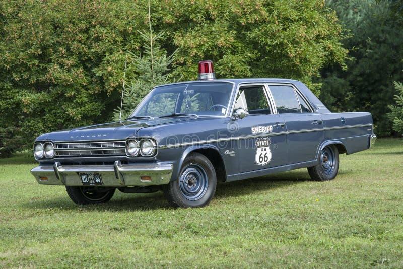 Εκλεκτής ποιότητας περιπολικό της Αστυνομίας στοκ φωτογραφία