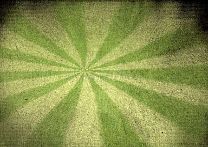 Εκλεκτής ποιότητας πράσινος καμβάς starburst απεικόνιση αποθεμάτων