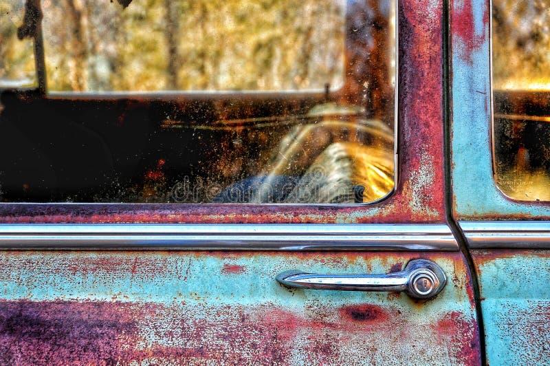 Εκλεκτής ποιότητας πόρτα αυτοκινήτων στοκ φωτογραφίες με δικαίωμα ελεύθερης χρήσης